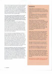 Over Robijn Tilanus interview el Maestro pagina 4
